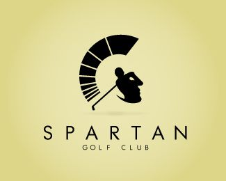 reed emailed me this logo because he thought it was cool VERY COOL ICON! incase you dont see it... golfer. spartan head. as well as the mohawk could be seen as momentum lines from the swing of the club. AWESOME