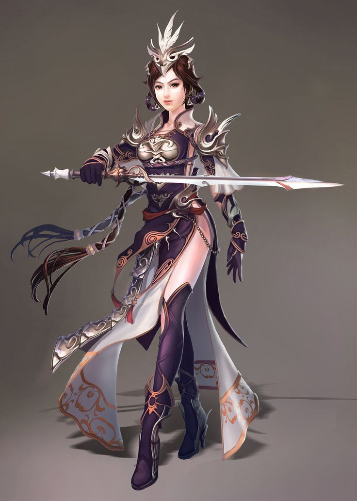 Anime Fantasy Character Design : Best images about oriental warriors on pinterest