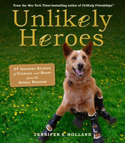 Unlikely Heroes: 37 Inspiring Stories of Courage and Heart from the Animal Kingdom by Jennifer Holland http://www.amazon.com/dp/0761174419/ref=cm_sw_r_pi_dp_Gg1wub0C9BAX4