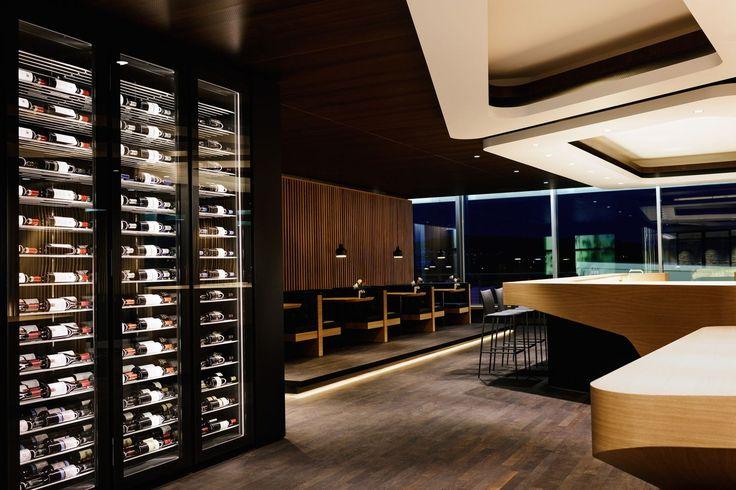 SWISS Zürich First Lounge - ELLEDecor.com