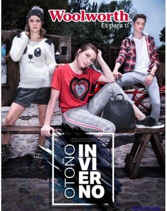 Woolworth  Colección Otoño Invierno 2018 Teens. Tiendas Woolworth 1766d74c3ffd