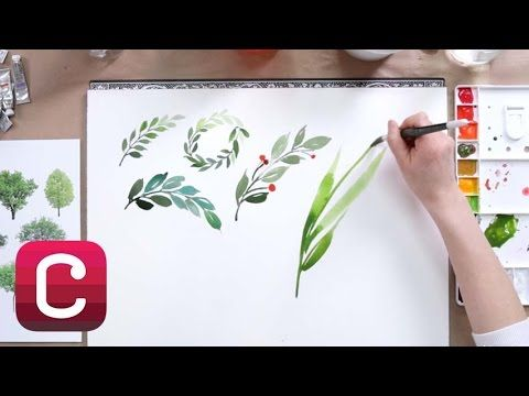 CLASS: Beginning Watercolor with Yao Chen – Brush Lettering Tutorial