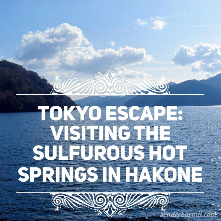 There is a reason as to why Hakone is one of the most popular destinations for a day trip from Tokyo! Read on and find out why!