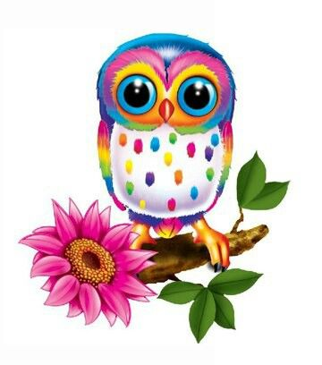 owl by Lisa Frank