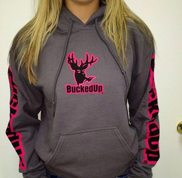 Bucked up hoodie