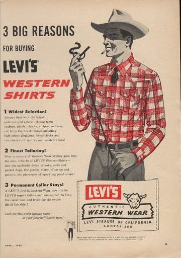 Levi's Western Shirts