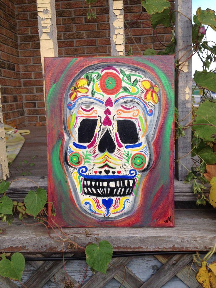 Nashville Skull by GalleryGibson on Etsy