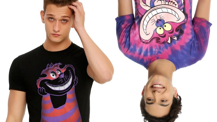 5 Alice in Wonderland T-Shirts for Male Geeks