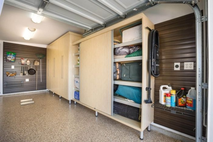 1001 Exemples D Amenagement Garage Fonctionnel Armoire