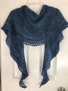 Ravelry: Easy Shawl pattern by Made of Wool