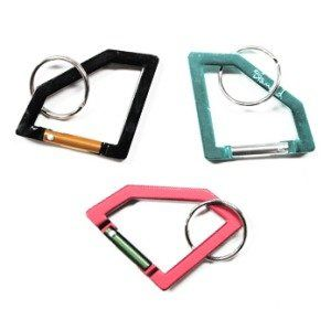 Diamond Supply Co. Diamond Carabiner Rock Keychains Diamond Supply Company was found in California in 1998 by skateboarder Nicky Diamond. Available in Black/Gold, Red/Green & Diamond Blue/Silver
