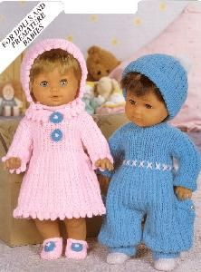 Glenwell 7184 Doll and Premature Baby Clothes