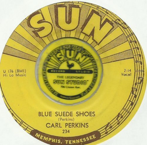 Ebay Carl Perkins Blue Suede Shoes