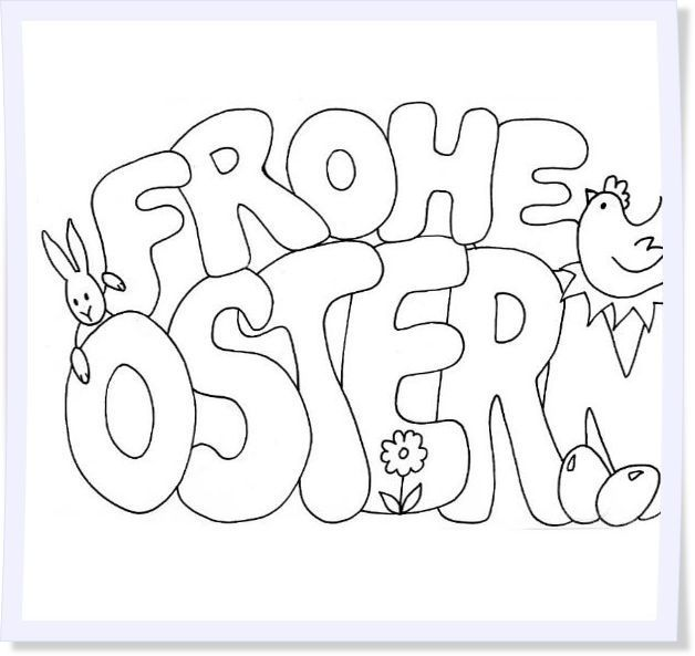 ausmalbilder frohe ostern kinder 961 malvorlage ostern