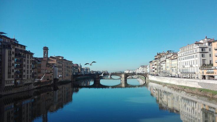 Ponte vecchio, Firenze ITALY 💓