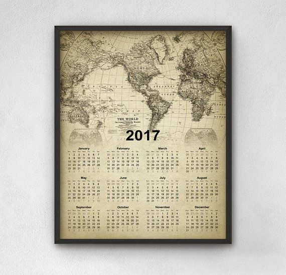 101 best 2017 Calendars images on Pinterest Calendar 2018, Flat - photo calendar