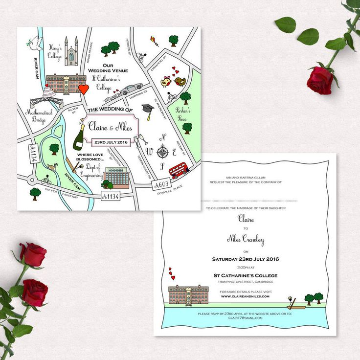 Are you interested in our invitation? With our custom map you need look no further.