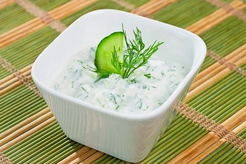 Combine Greek yogurt,cucumber,dill,lemon and garlic to get this thick and creamy Homemade Tzatziki Sauce recipe.Serve with grilled meats or dip with veggies