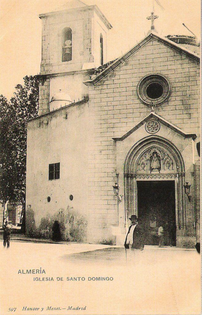 Fachada de la iglesia Virgen del Mar (principios S. XX)