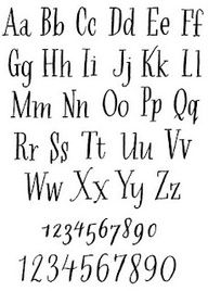 hand lettered alphabets - Google Search