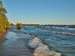 The best beach in the world! Big Sandy Bay- Wolfe Island, Ontario (largest of the Thousand Islands)