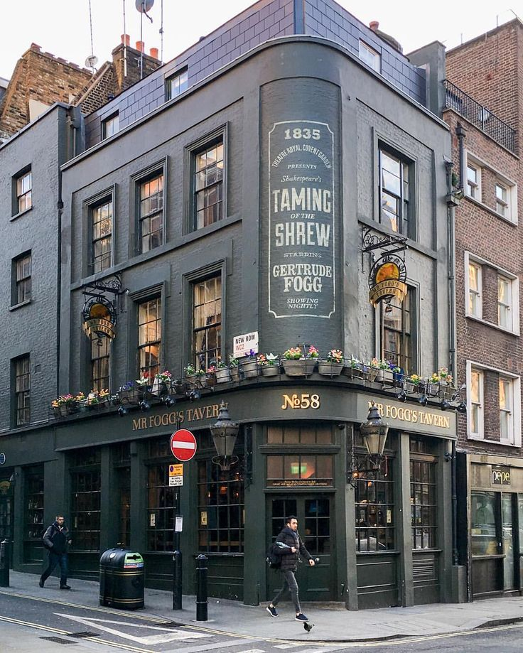 Pub in Covent Garden, London