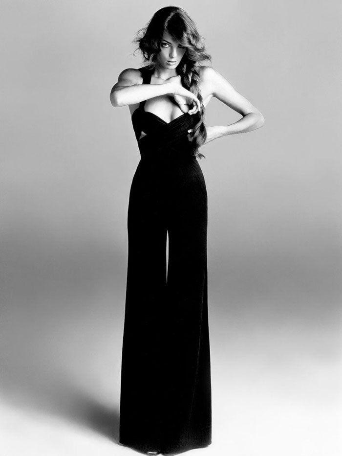 jumpsuitLong Legs, Fashion, Style, Vogue Paris, Outfit, Jumpers, Dresses, Black Jumpsuits, Daria Werbowy
