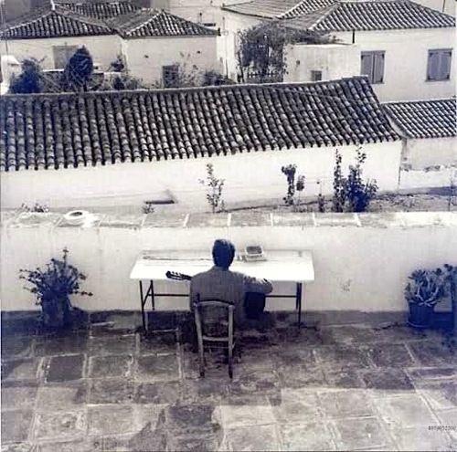 26 best hydra black white images on pinterest greek for Terrace in a sentence