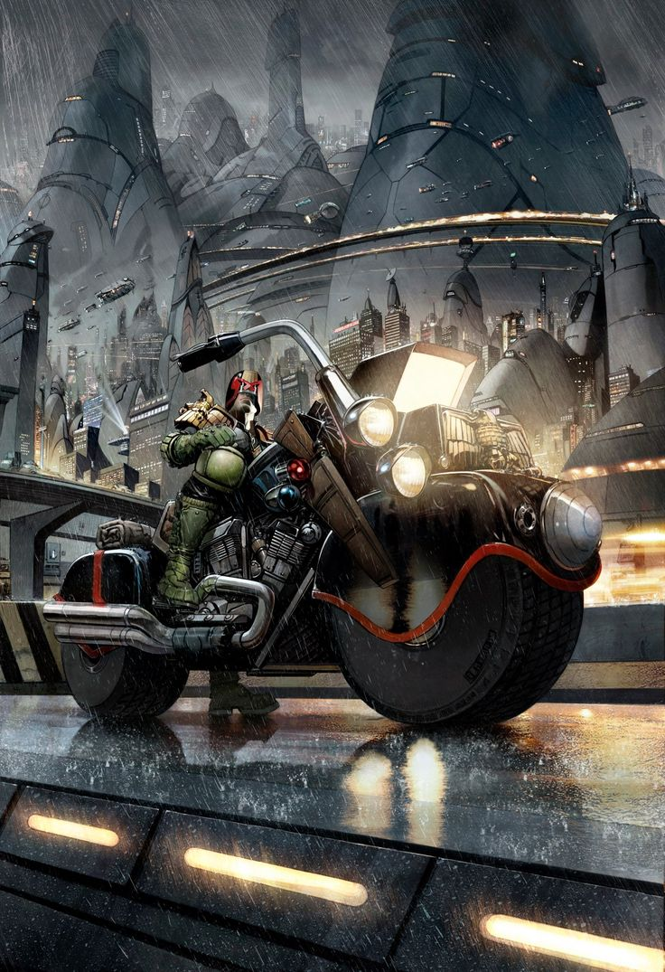"""Judge DREDD. My comic years in the years of youth. """"I am the law""""."""