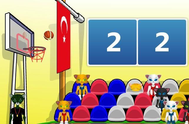 2010 yılında ülkemizde düzenlenen Dünya Basketbol Şampiyonası ile alakalı oyunda, Türk Milli takımı da yer alıyor. Takımınızı seçip maçlara başlayın ve basket atışları ile maçları kazanmaya çalışın.  http://www.oyuntr.net/basketbol-oyunlari