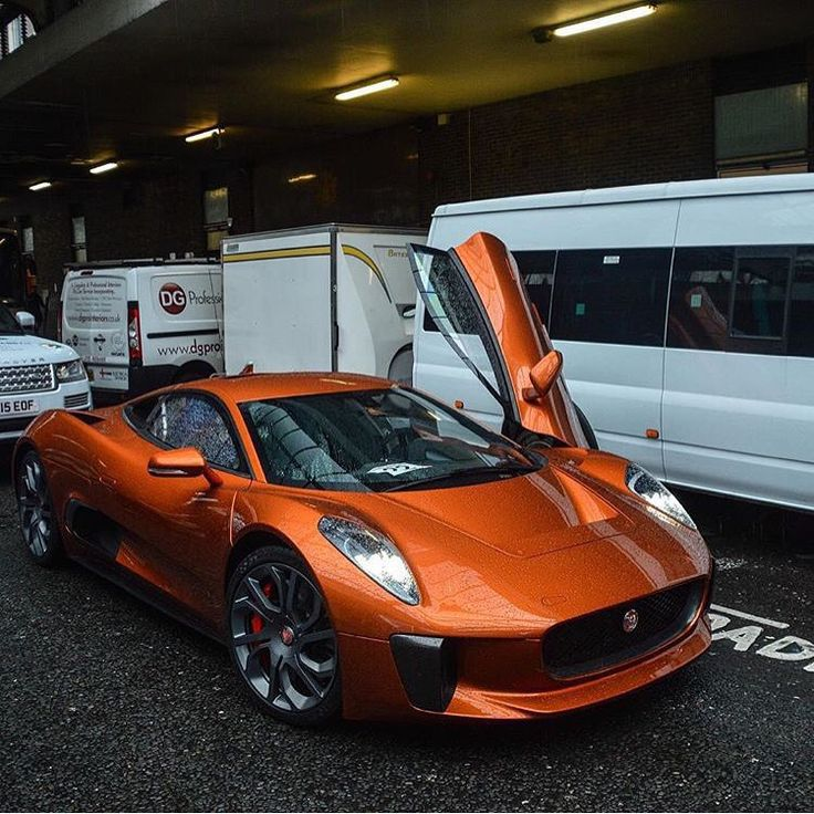 Superb Jaguar C X75
