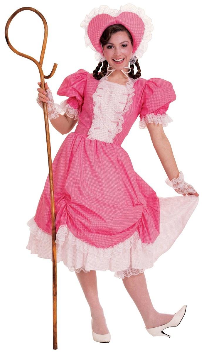 Little Bo Peep Costume Deluxe   Theatrical Bo Peep Costume