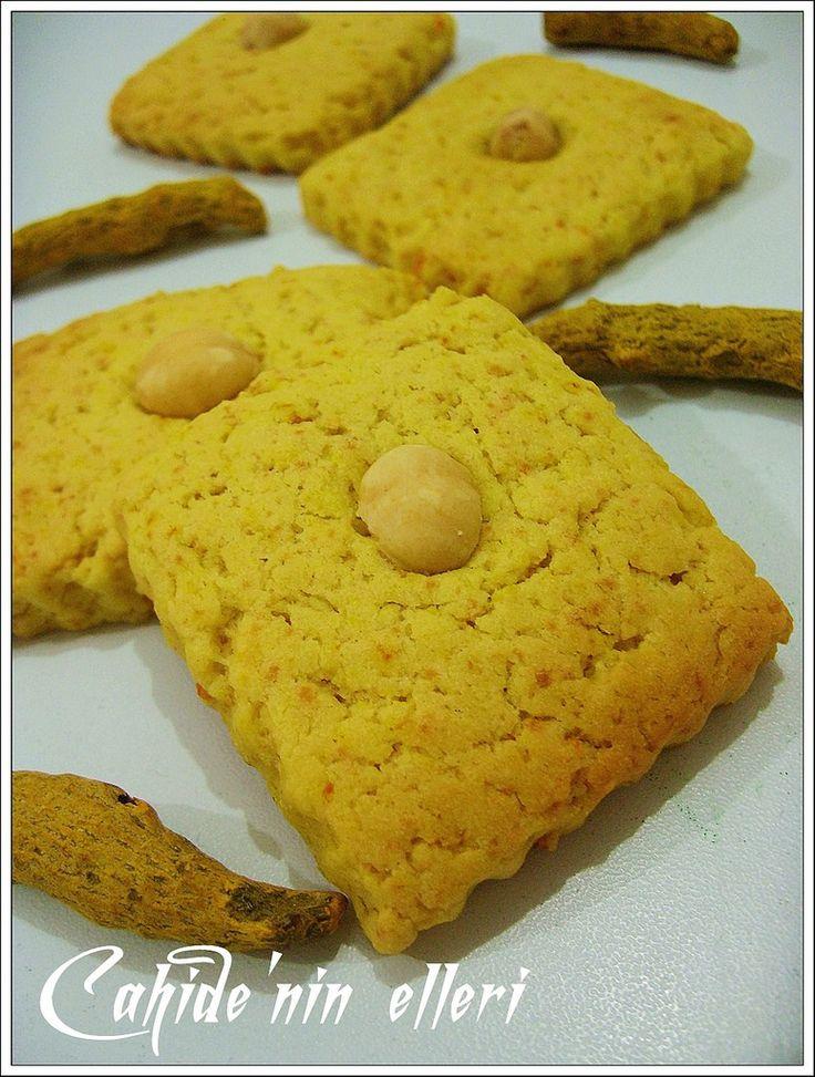 Zerdeçalli kurabiye