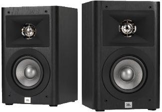 JBL Studio 220 1 Paar, Regallautsprecher, 125 Watt, Schwarz