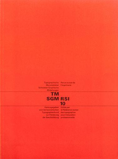 Typographische Monatsblätter Research Archive