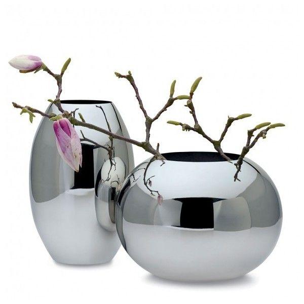 Philippi Design Philippi Orb Vase ($80) ❤ liked on Polyvore featuring home, home decor, vases, decor, flowers, backgrounds, fillers, sphere vase, stainless steel vase and philippi design