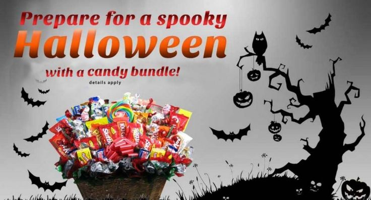WIN A CANDY BUNDLE FOR HALLOWEEN!