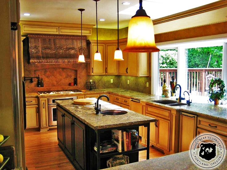 Kitchen Island Different Color Than Cabinets 35 best huggy bear's kitchen cabinets images on pinterest