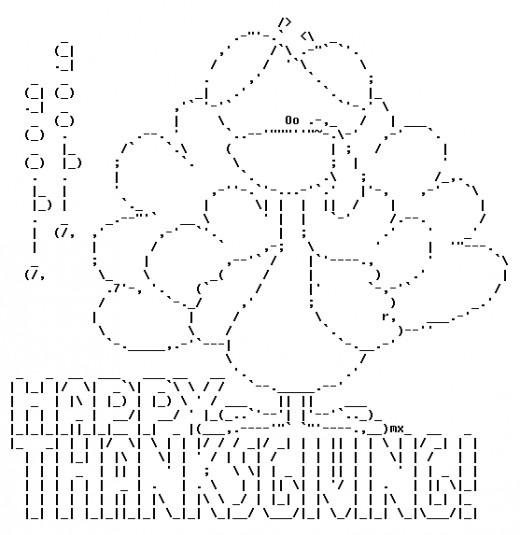 Art happy ascii ASCII Art