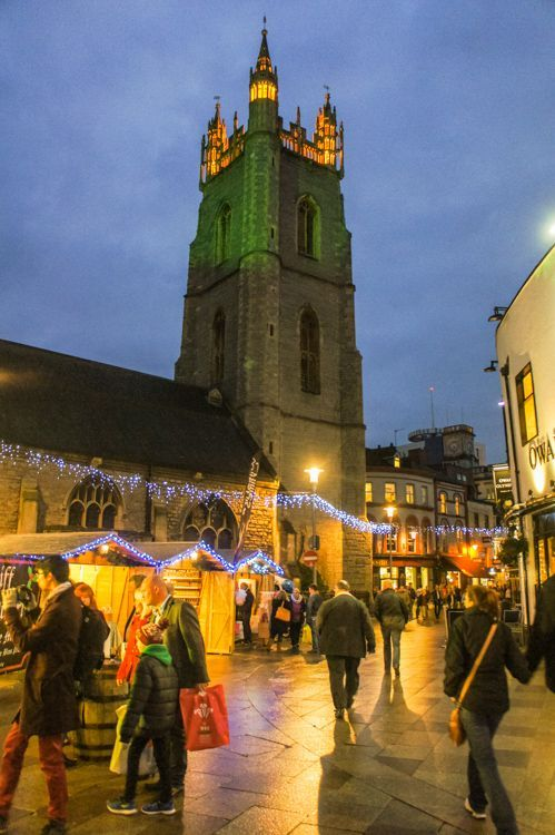 Christmas Market in St. Mary Street Cardiff, South Wales, UK - Things to do in Cardiff in Winter: Christmas Market Cardiff