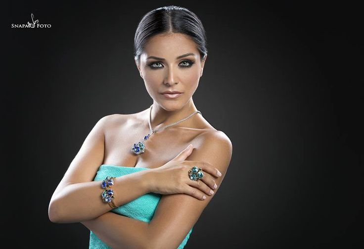 Miss Martha Fenech is Miss Universe Malta wearing Monnaluna Jewels!
