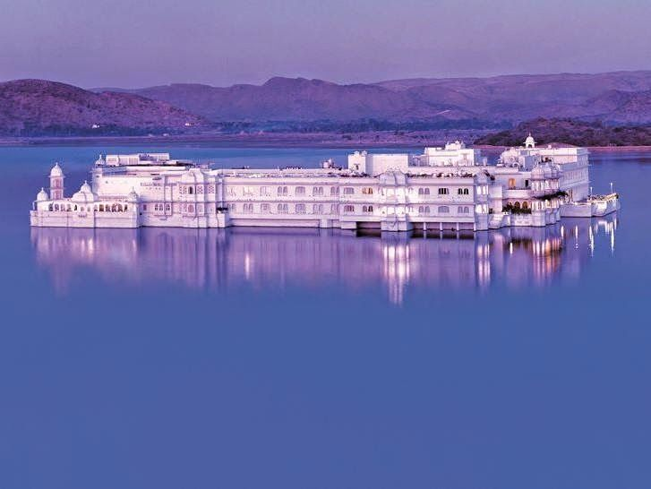 Every year, Conde Nast Traveler puts its stamp on the best hotels in the world. Some are included in Nezasa's itineraries, including this amazing Lake Palace in India which looks like it's floating in the middle of Lake Udaipur. What's more, it was featured in a James Bond movie.