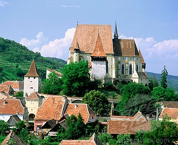 Transylvania, Saxon fortified church of Biertan, near Sighisoara