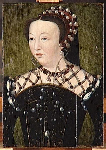 CATHERINE DE MEDFICI PROVENANCE Corneillede Lyon, prior to 1560, photo joconde