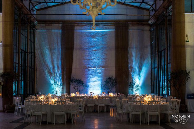 Wedding Tables | #wedding #weddingdecoration #weddingideas #weddinginspiration #blueandwhite