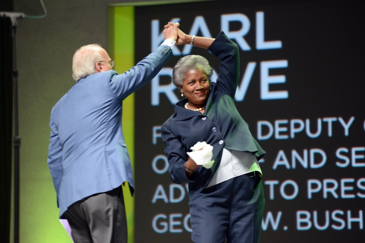 Karl Rove and Donna Brazile Dance http://swampland.time.com/2013/06/20/karl-rove-and-donna-brazile-dance/