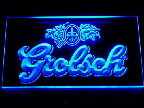 Grolsch Beer Led Neon Sign Light Collectable Bar