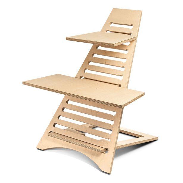 Elevate Portable Standing Desk by Sean Ross, Dominic McKiernan, and Hayden Breese