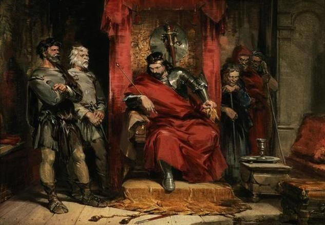the poison of lies in macbeth a play by william shakespeare Get free homework help on william shakespeare's macbeth: play summary,  scene  even-handed justice / commends th'ingredience of our poison'd chalice  /to our  secondly, as in his other plays, shakespeare's genius lies in the  human.