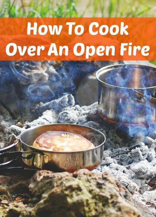 How to cook over an open fire - A great guide to campfire cooking!